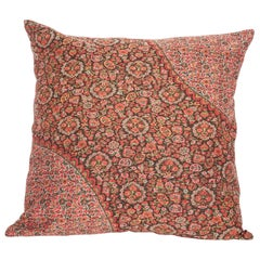 19th Century European Paisley Wool Pillow
