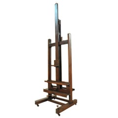 19th Century Exceptional Artist Easel, Chevalet