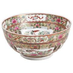19th Century Famille Rose Bowl