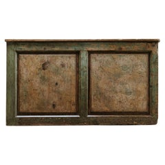 "19th Century ""Faux Marbre"" Painted Shopcounter"