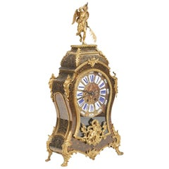 19th Century Figural Mantle Clock