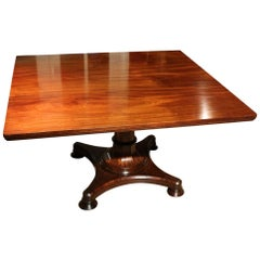 19th Century Fine Quality William IV Tilt-Top Dining Table