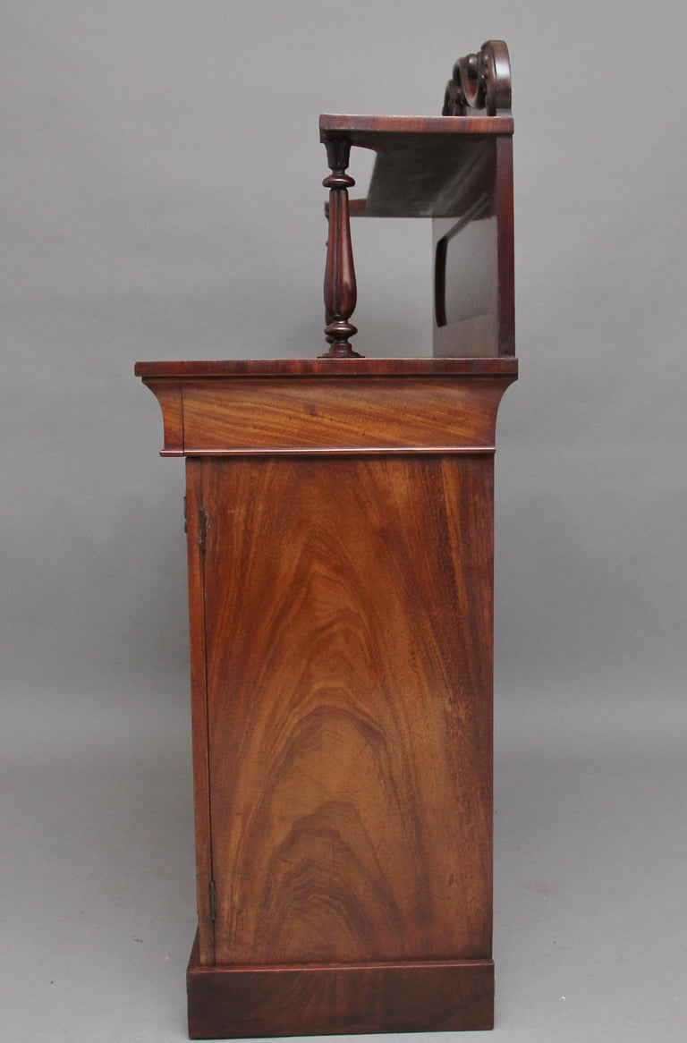 19th Century Flame Mahogany Chiffonier For Sale 2