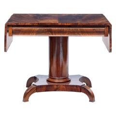 19th Century Flame Mahogany Sofa Table