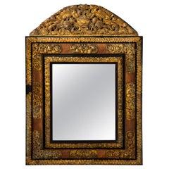 19th Century Flemish Repoussé Mirror