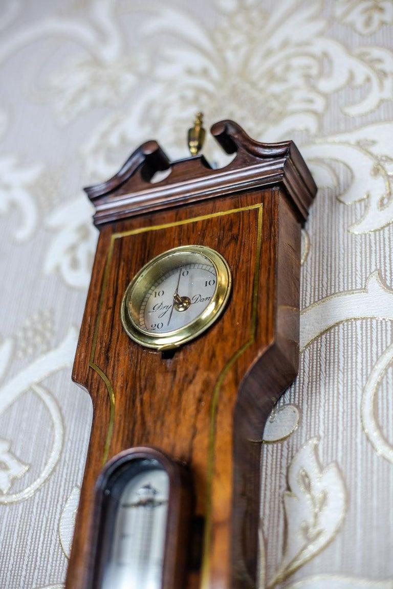 19th Century Float Mercury Barometer For Sale 4