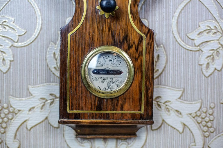19th Century Float Mercury Barometer For Sale 6