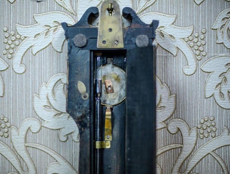 19th Century Float Mercury Barometer For Sale 9