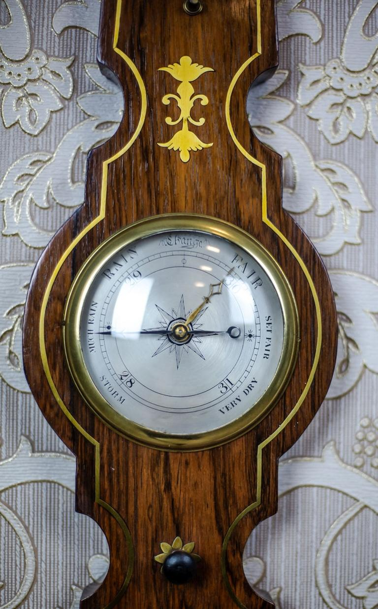 19th Century Float Mercury Barometer For Sale 1