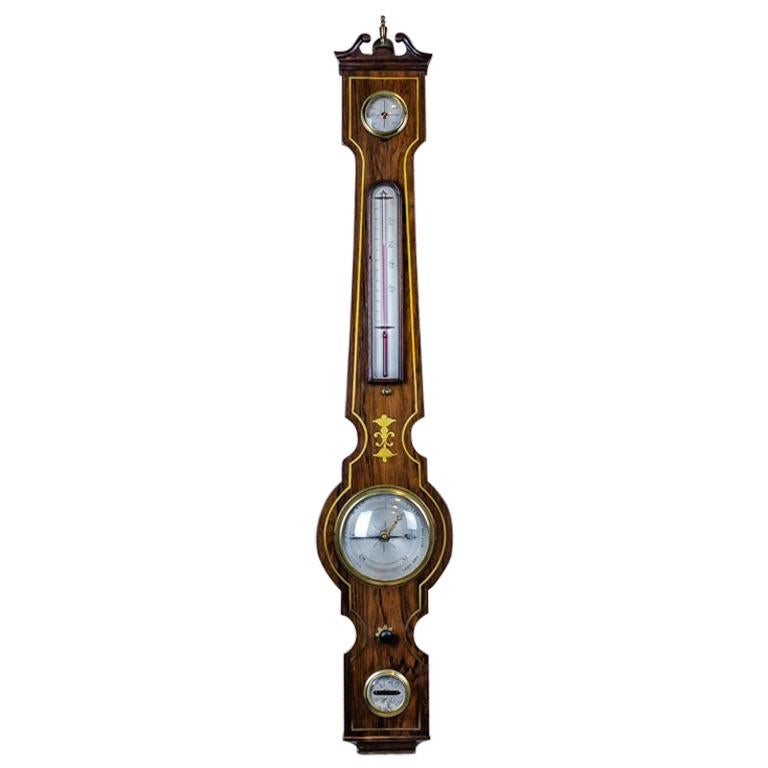 19th Century Float Mercury Barometer For Sale
