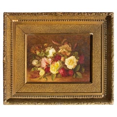 19th Century Floral Still Life by Esther Lawton Coffin