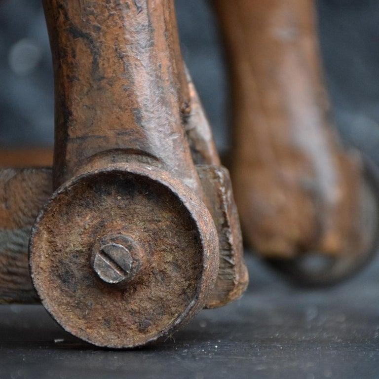 Wood 19th Century Folk Art Child's English Horse Toy For Sale