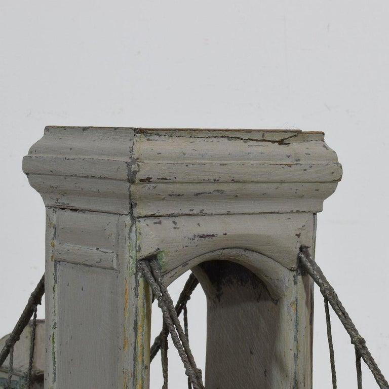 19th Century Folk Art French Model of a Bridge For Sale 11