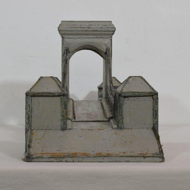 19th Century Folk Art French Model of a Bridge For Sale 1