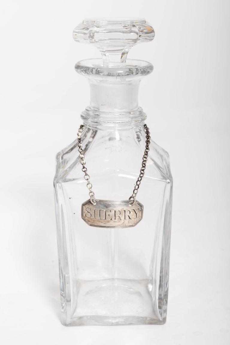 19th Century Four Decanter Liqueurs Set For Sale 1
