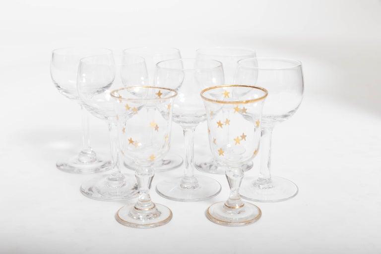 19th Century Four Decanter Liqueurs Set For Sale 2
