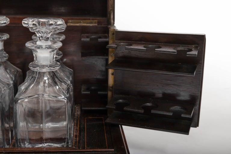 19th Century Four Decanter Liqueurs Set For Sale 3