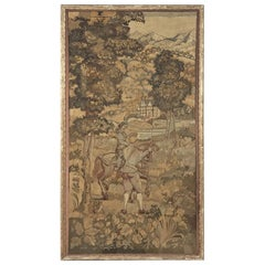 19th Century Framed Italian Tapestry