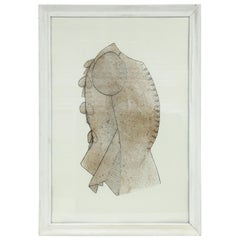 19th Century Framed Seamstress Template