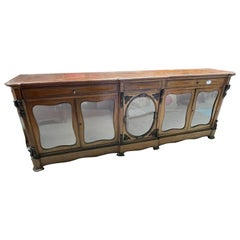19th Century France Louis Philippe Mahogany Sideboards Credenzas ,1840s