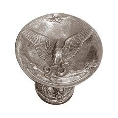 19th Century Fratin Bronze Bear Cup Signed Daubrée Editor
