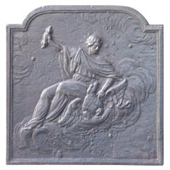 19th Century French 'Abduction of Ganymede' Fireback