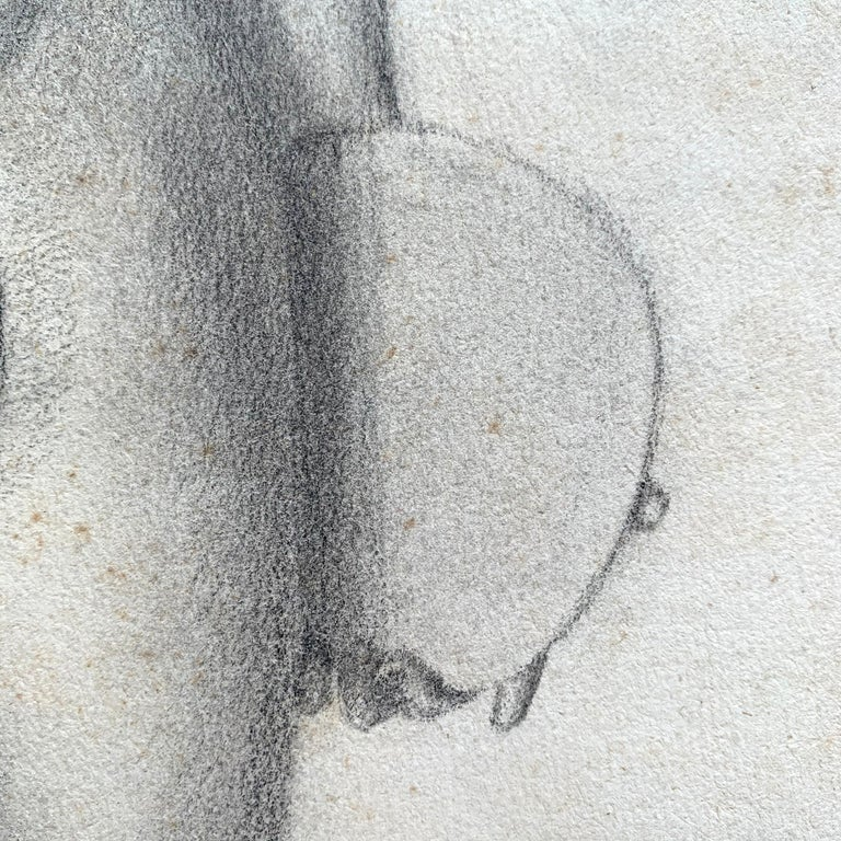 19th Century French Academic Figure Drawing For Sale 4