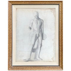 19th Century French Academic Figure Drawing