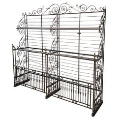 19th Century French Antique Baker's Rack