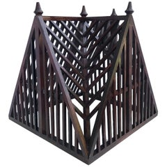 19th Century French Architectural Wood Roof Model
