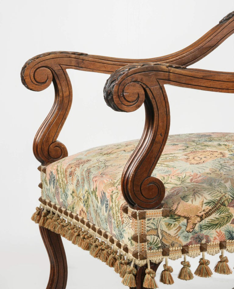 19th Century French Armchair Louis XIV Style In Good Condition For Sale In Casteren, Noord-Brabant