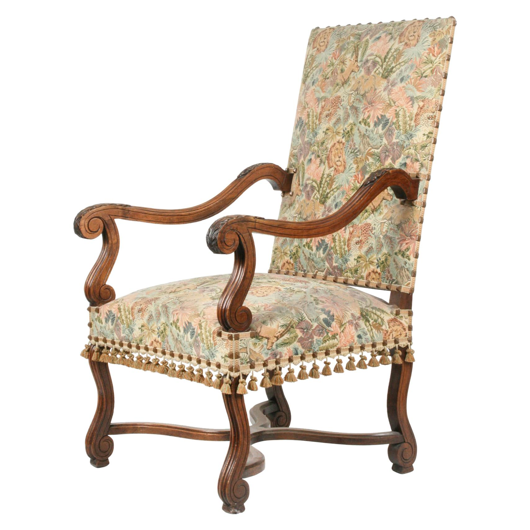 19th Century French Armchair Louis XIV Style