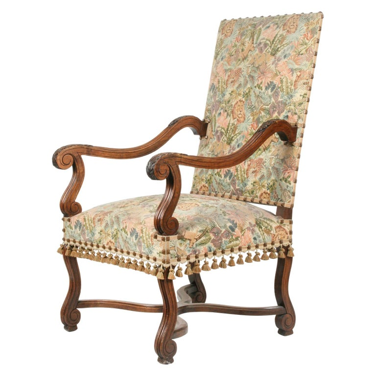 19th Century French Armchair Louis XIV Style For Sale