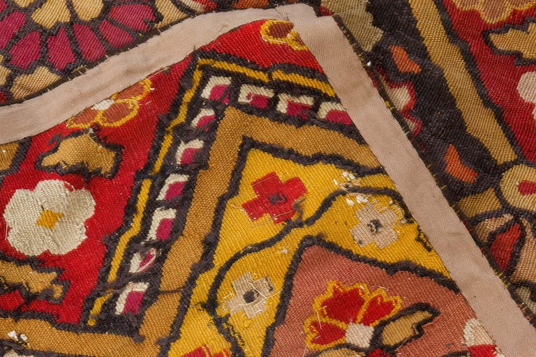 19th Century French Aubusson Rug For Sale 2