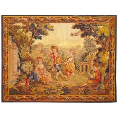 19th Century French Aubusson Tapestry