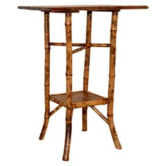 19th Century French Bamboo Side Table