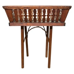 19th Century French Basket as Table