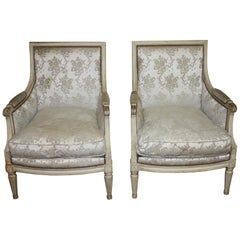 19th Century French Bergère Chairs