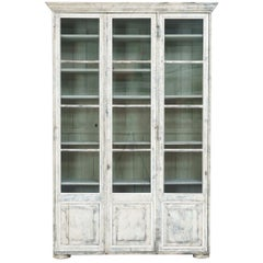 19th Century French Bibliothèque Bookcase or Vitrine Cabinet