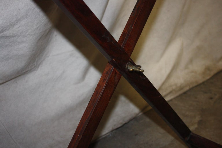 19th Century French Boat Table For Sale 8