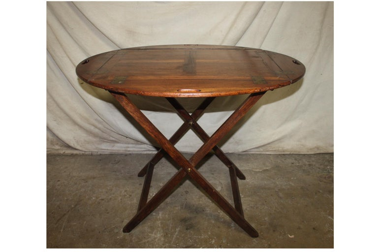 19th century french boat table.