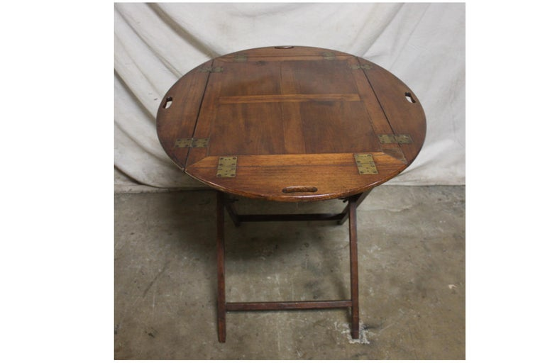 19th Century French Boat Table For Sale 1