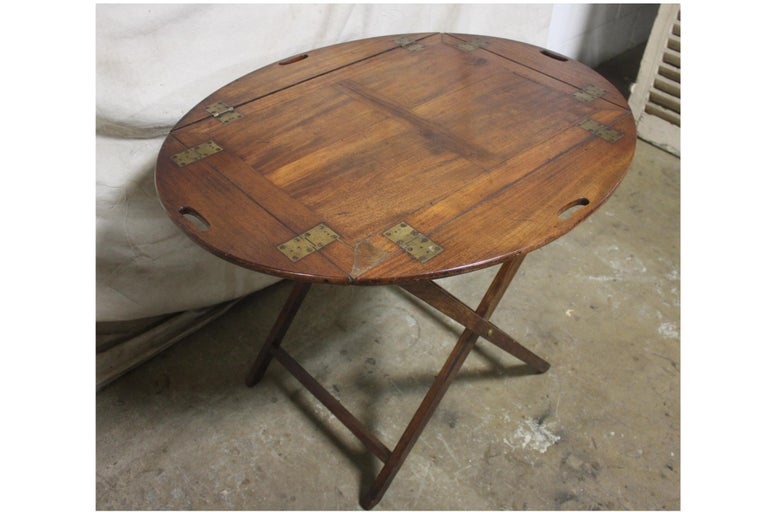 19th Century French Boat Table For Sale 2