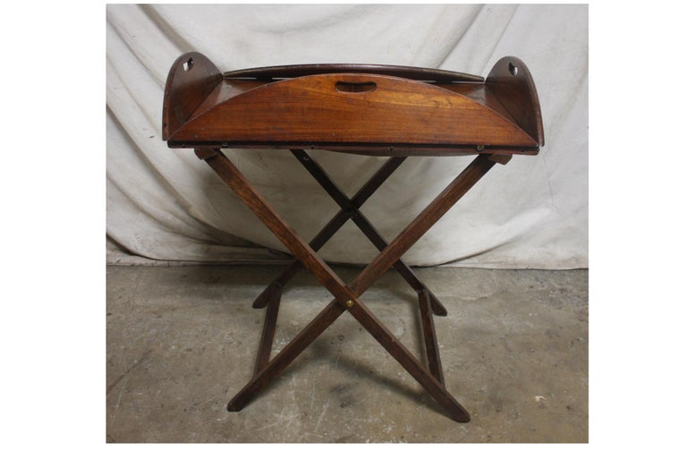 19th Century French Boat Table For Sale 3