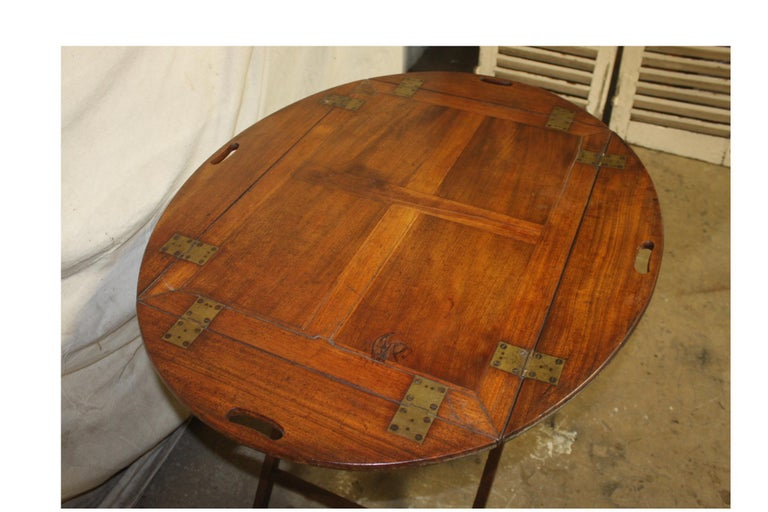19th Century French Boat Table For Sale 4