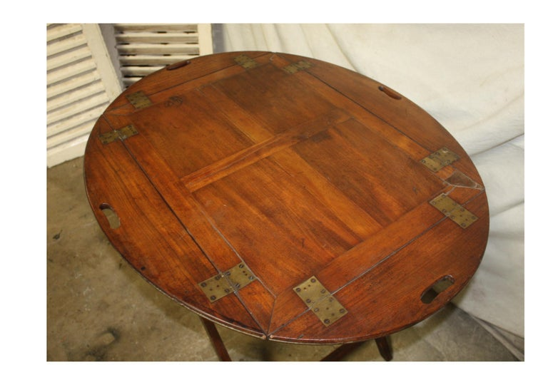 19th Century French Boat Table For Sale 5