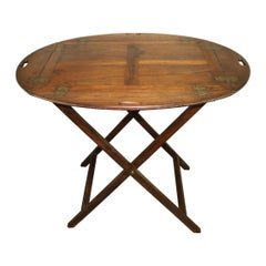 19th Century French Boat Table