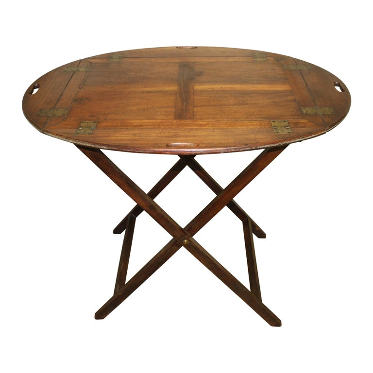 19th Century French Boat Table For Sale