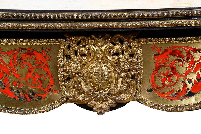 19th Century French Boulle Card Table For Sale 2