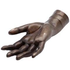 19th Century French Bronze Hand
